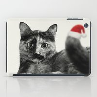 merry christmas iPad Cases featuring Merry Christmas! by SensualPatterns