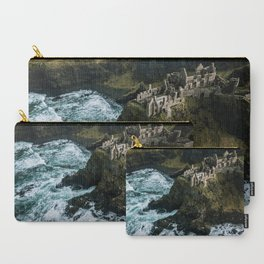 Castle ruin by the irish sea - Landscape Photography Carry-All Pouch
