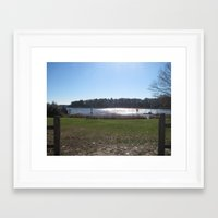 cape cod Framed Art Prints featuring Cape Cod  by Kammy Nature Prints