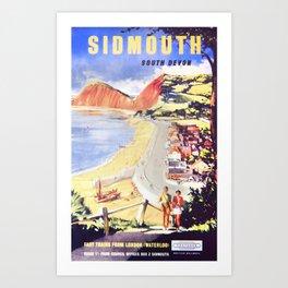 Advert For Travel Art Print