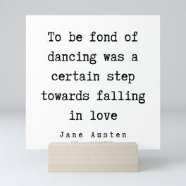 29     | Jane Austen Quotes | 190722 Mini Art Print