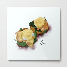 Eggs Benedict Metal Print