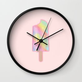 Unicorn Popsicle Wall Clock
