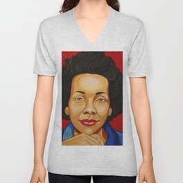 Coretta Scott King Unisex V-Neck