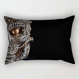 Biomechanical monster Rectangular Pillow