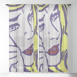ROY LICHTENSTEIN Sheer Curtain