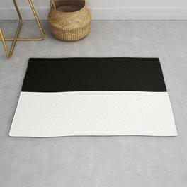 BLACK-WHITE Rug