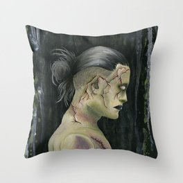 Prometheus Adam Throw Pillow