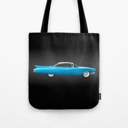1960 Cadillac Coupe De Ville Tote Bag