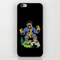 cyclops iPhone & iPod Skins featuring Cyclops by James Kaminski