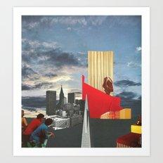 The City As Home 4 Art Print