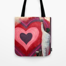 Valentine's Day Illustration Tote Bag