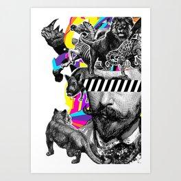 Pop Art Motifs Art Print