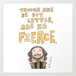 Shakespeare Quote Art Print