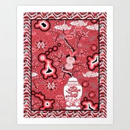 Neo Chinoiserie Art Print