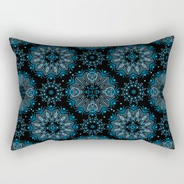 Winter night . Ornamen Rectangular Pillow