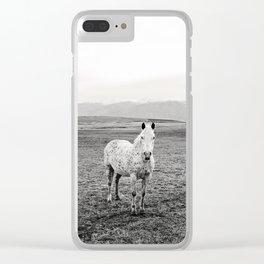 Appaloosa Horse | Western Art Clear iPhone Case