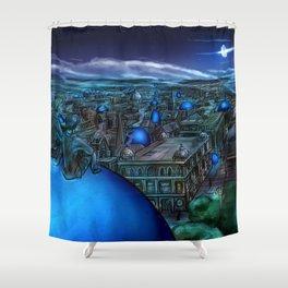 Penglass Shower Curtain