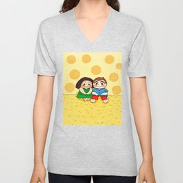 Yellow Mellow Unisex V-Neck