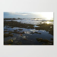 San Pedro at Low Tide Canvas Print