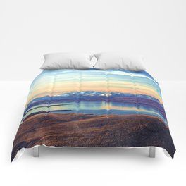 Lake Tekapo New Zealand-Fall Comforters