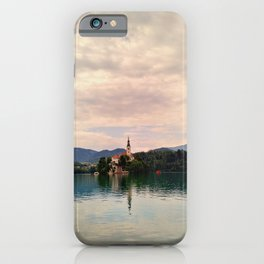 Lake Bled Fairy Tale iPhone Case