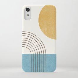 Sunny ocean iPhone Case