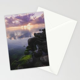 Sunrise On The Bay In Corpus Christi Stationery Cards