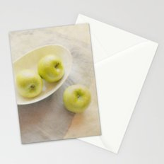 Painterly Apples Stationery Cards