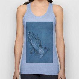 Praying Hands by Albrecht Dürer Unisex Tank Top