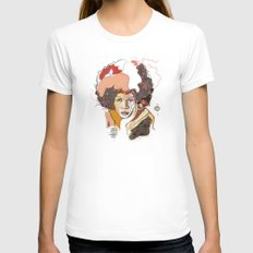 Minnie Riperton - Soul Sister | Soul Brother Womens Fitted Tee MEDIUM White
