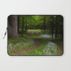 Forget-me-not Trail Laptop Sleeve