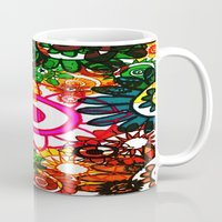 hippy Mugs featuring Hippy Shake! by Charlotte Douthwaite