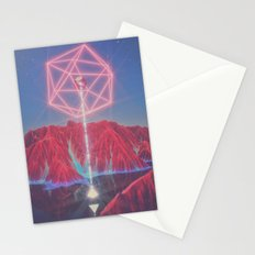 Teleportation Stationery Cards
