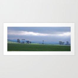 California Farmin' Art Print