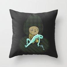 Please God Nooo! Throw Pillow