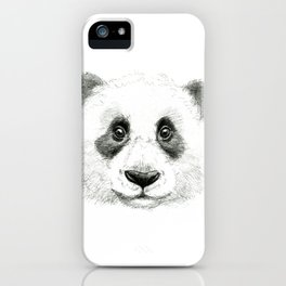 Giant Panda portrait SK063 iPhone Case