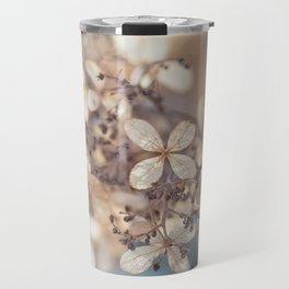 Winter flowers Travel Mug