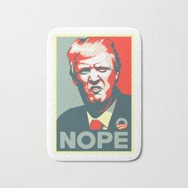 Trump NOPE Bath Mat