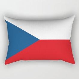 Flag of Czech Republic Rectangular Pillow