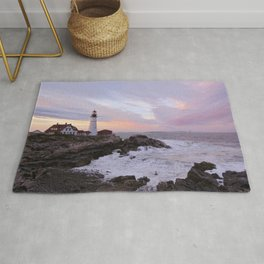 Portland Head Light Rug