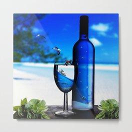 sea drinks Metal Print
