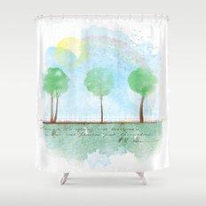 Always it's spring Shower Curtain