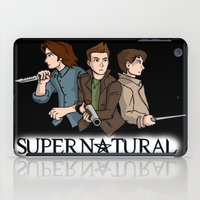 supernatural iPad Cases featuring Supernatural by KewlZidane