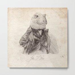 John T. Rex Metal Print
