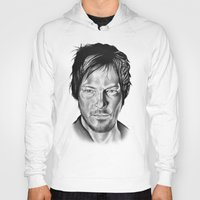 daryl dixon Hoodies featuring Daryl Dixon by 13 Styx