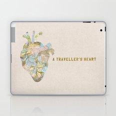A Traveller's Heart (UK) Laptop & iPad Skin