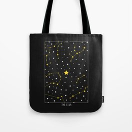 The Star - Tarot Illustration Tote Bag