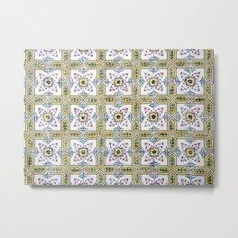 Portuguese Tiles 2 Metal Print