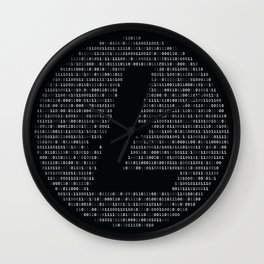 Litecoin Binary Wall Clock